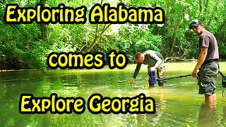 Metal Detecting 2016 Magnet Fishing Adventure with Exploring Alabama!