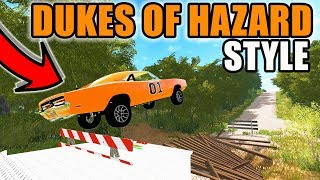FARMING SIMULATOR 2017 | I BOUGHT THE GENERAL LEE TO HAVE ON THE FARM & RUNNING FROM THE COPS