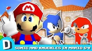 We Race Sonic and Knuckles in Mario 64!