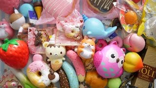 SQUISHIES GALORE! CreamiiCandy Squishy Review Package Opening + Collective Squishy Haul