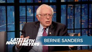 Bernie Sanders on Trading Barbs with Hillary Clinton