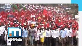 Kisan Long March Nears Mumbai  Mathrubhumi News