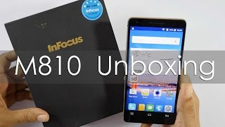 InFocus M810 Android Smartphone Unboxing & Overview