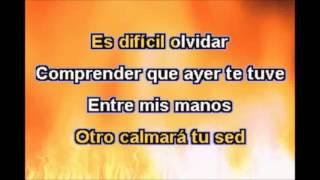 Miguel Gallardo-Otro ocupa mi lugar( karaoke)