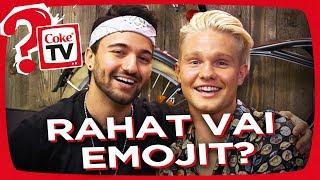 RAHAT VAI EMOJIT? Q&A DOKEN & BENJAMININ KANSSA! | #AskCokeTV