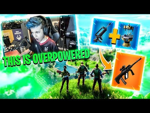 The BEST weapon in Fortnite Chapter 2 My FIRST WIN Fortnite Battle Royale