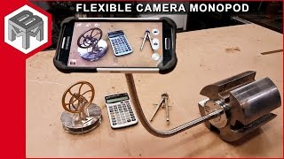 How to Make a Magnetic Flexible Camera Monopod