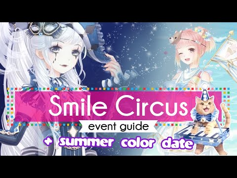 Circus Smile Event Tutorial ✿ Love Nikki Dress Up Queen