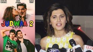 Taapsee Pannu OPENS On Judwaa 2 With Salman Khan & Varun Dhawan