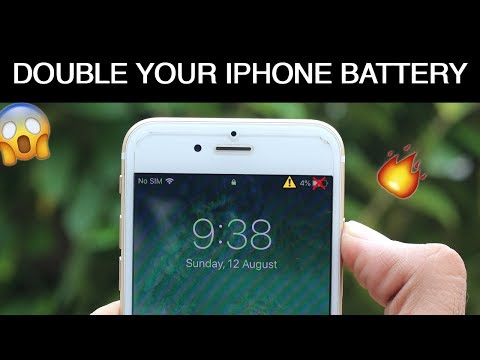 How to Double Your iPhone Battery Life 1000% | Increase iPhone Battery Timing