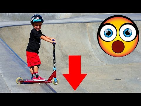 INSANE 3 YEAR OLD SCOOTER KID!!!