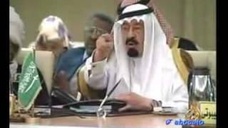 محاورة بين القذافي و ابو متعب