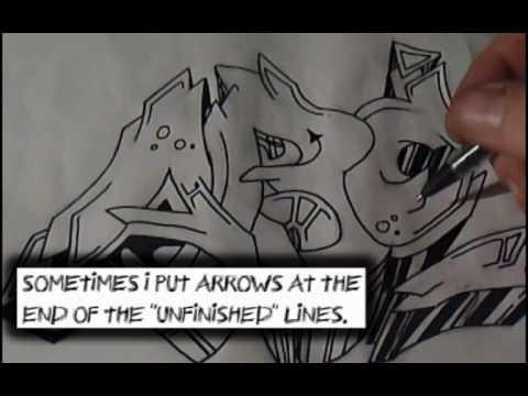 Xxx Mp4 Graffiti Sketch Drawing 22 Lets Call It A Quot Tutorial Quot How To Draw Graffiti 3gp Sex
