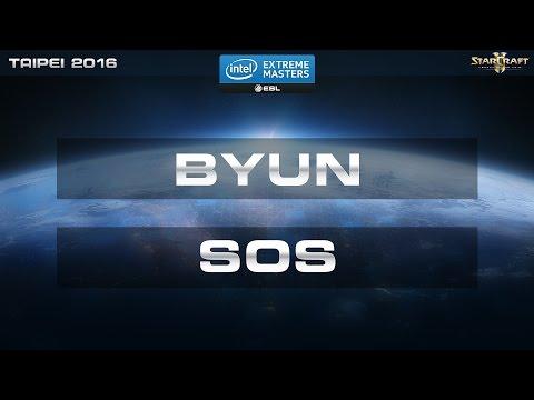 StarCraft 2 - Byun vs. SOS (TvP) - IEM Taipei 2016 - Final