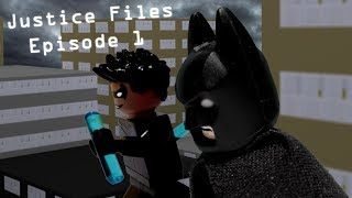 Stop Motion Animation LEGO Brickfilm Batman Dark Knight Justice Files