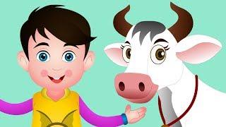 Gaay Hamari Kitni Pyaari | Hindi Rhymes For Children | Kids Songs & Nursery Rhymes