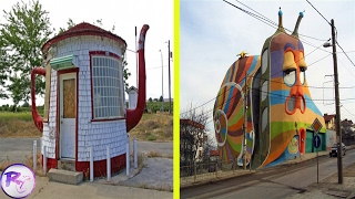 Strangest Houses Ever Built From Around The World