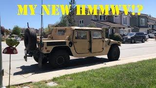 Prank - I Bought a HMMWV!