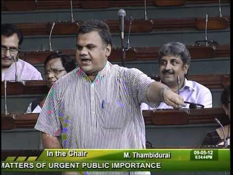 sh. Devji Patel MP Lok Sabha Jalore Sirohi drinking water dt   9th may 2012