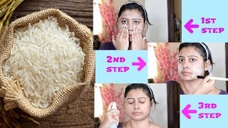 Rice Facial For 10 Years Younger Looking Skin