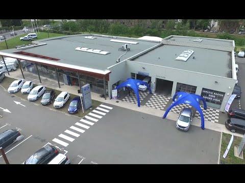 ACTUA DRONE et FORD MAGRIS à GIVORS - Présentation de la concession.