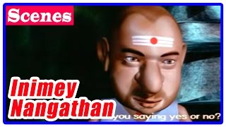 Inimey Naangathaan Tamil Movie | Scenes | Vichu and friends falls into well | Venky Babu