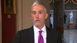 Rep. Trey Gowdy: Trump's comments on Sessions
