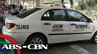 Mga pasahero sa NAIA, mas gusto ang mga puting taxi