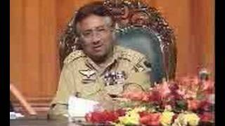 Musharaf Speechless