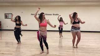 Karol G | Pineapple | Belly Dance Class