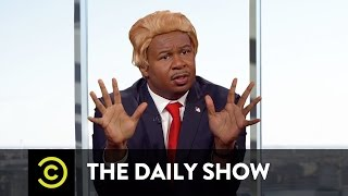 Donald Trump Speaks to the Washington Post: A Dramatic Reenactment: The Daily Show