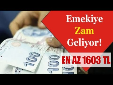 Emekli Maaşına Seyyanen Zam Asgari Ücret Kadar Olacak