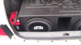 The LOUDEST 2 12's on 1,000 Watts I Have EVER Heard! DAD Subwoofers FTMFW!