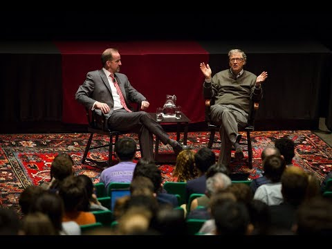 'A Conversation with Bill Gates' Q&A at Harvard University