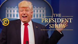 Screw Science! Bye-Bye, Paris - The President Show - Comedy Central