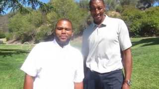 NBA Hall of famer Scottie Pippen & actor Anthony Anderson