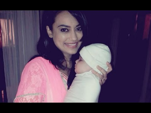Surbhi Jyoti with her on-screen daughter -super adorable