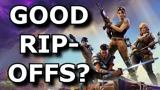 When Are Game RIPOFFS Good? - Fortnite/PUBG Rant