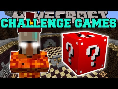 Minecraft FIRE WITCH CHALLENGE GAMES Lucky Block Mod Modded Mini Game