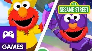Sesame Street: Elmo ABC Jump Games!