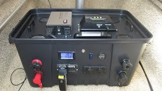 DIY Portable Solar Power Generator  Part 1