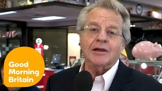 Jerry Springer Talks About The US Presidential Race | Good Morning Britain