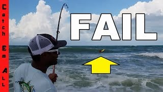 SURFERS AND SHARKS! SO ANGRY!! Worst Fail Fishing Ever