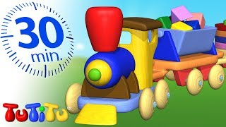 TuTiTu Specials | Wooden Train | Toys For Toddlers | 30 Minutes Special