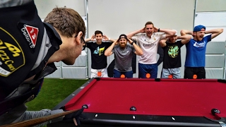 Pool Trick Shots 2 |  Dude Perfect