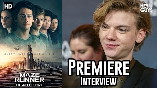 Thomas Brodie Sangster - Maze Runner: The Death Cure Premiere Interview
