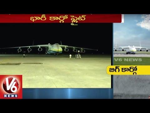 Xxx Mp4 World S Largest Cargo Plane Landed In Shamshabad Airport Antonov AN 225 Hyderabad 3gp Sex