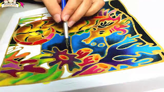 Do it by your self : Batik Painting Art
