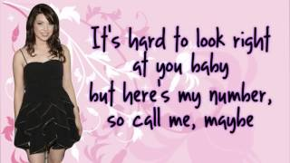 Carly Rae Jepsen - Call Me Maybe {LYRICS} HD _ Free Mp3 downloud _