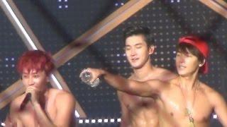[Super Junior Battle] SiWon vs LeeTeuk vs EunHyuk vs DongHae 'Perfect abs'